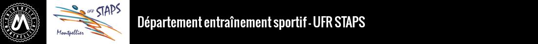 Département entrainement sportif Logo
